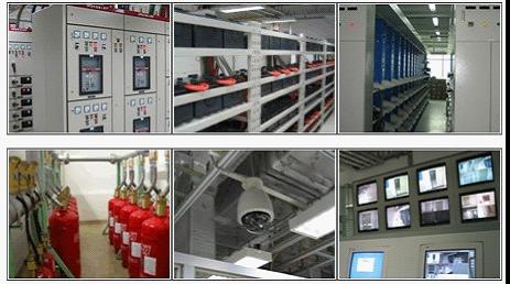 2, 空调系统  采用大型中央空调恒温,恒湿机房专用空调上送风结构设计